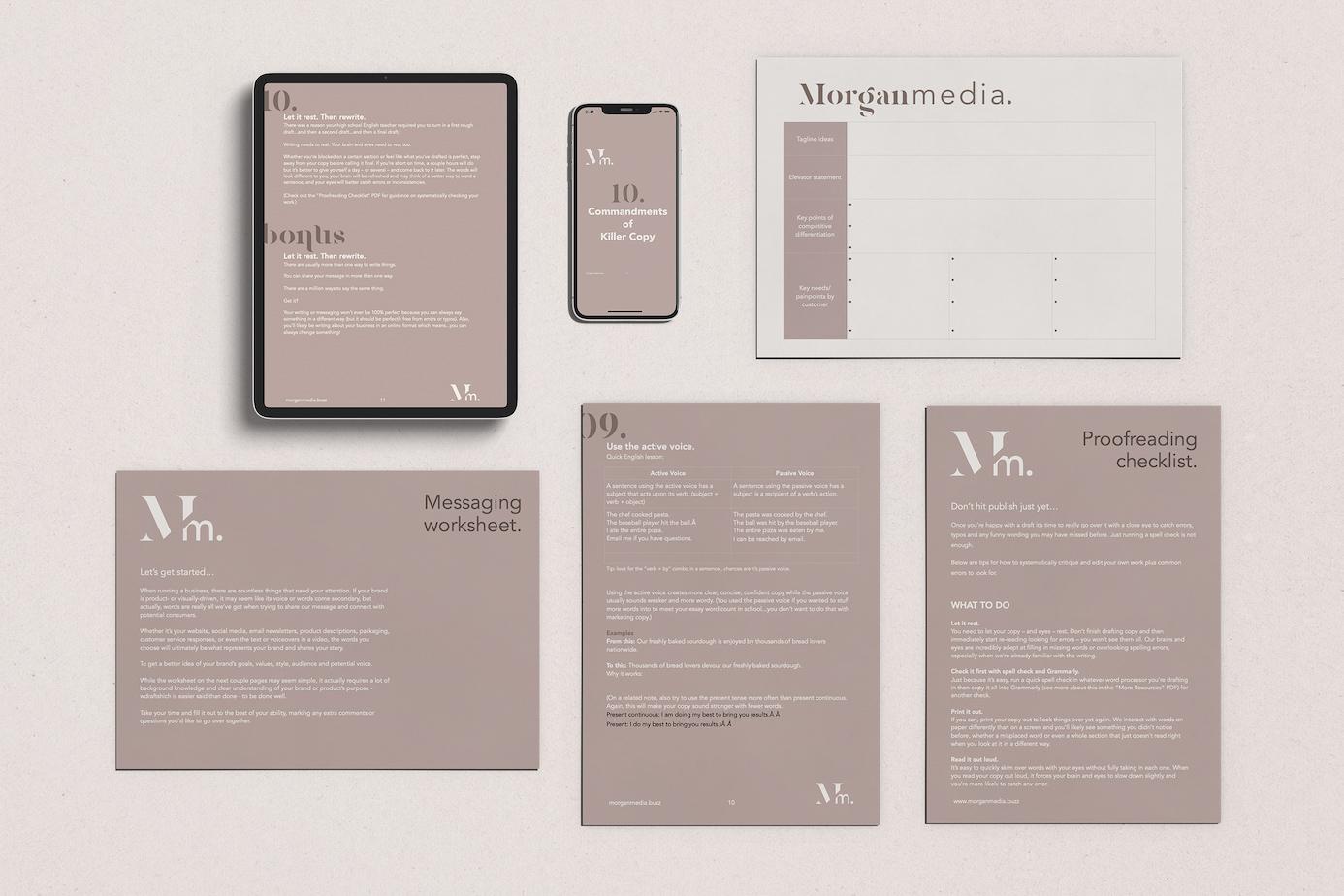 Beginner Copy Kit from Morgan Media